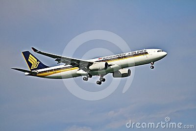 Airbus A330 Editorial Stock Photo