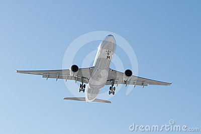 Airbus A330-300 on final approach