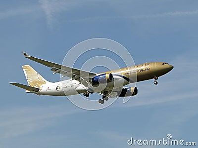 Airbus A330 Gulf Air Editorial Image