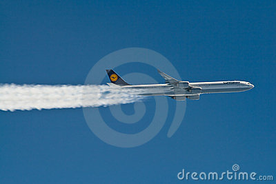 Airbus A340 Editorial Photo