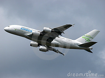 Airbus A380 Editorial Photography