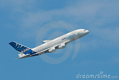 Airbus A380 Editorial Photo