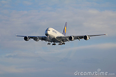 Airbus A380 Royalty Free Stock Photo - Image: 17956975