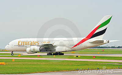 Airbus A380 Editorial Stock Image