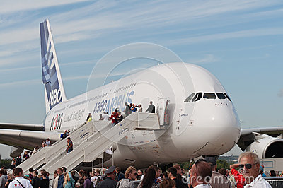 The Airbus A380 Editorial Stock Photo
