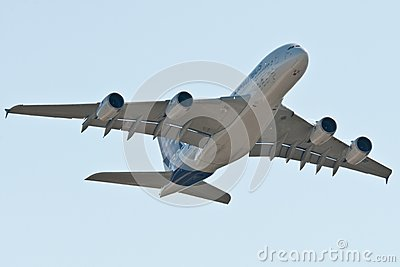 The Airbus A380 Editorial Image