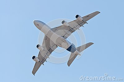 The Airbus A380 Editorial Photography