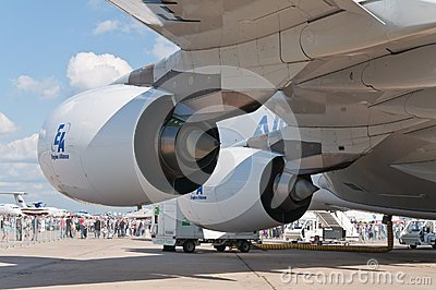 The Airbus A380 Editorial Stock Image