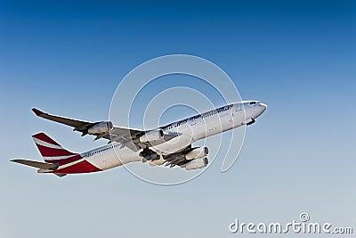 Airbus A340-300 - Air Mauritius - 3B-NBO Editorial Image