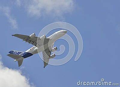 Airbus climbing Editorial Image