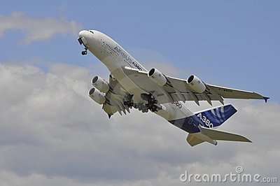 Airbus climbing Editorial Photography