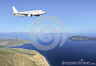 Airbus Crete coast