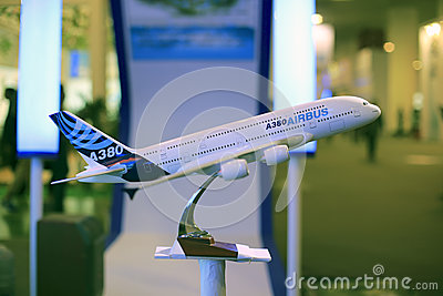Airbus a380 super jumbo Editorial Image