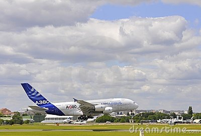 Airbus takeoff Editorial Image