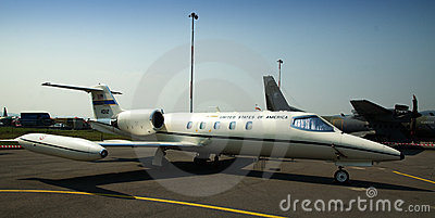 Aircraft C-21A - United states of america Editorial Stock Image
