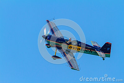 Aircraft CAP-21 of Luca Salvadori Editorial Photography