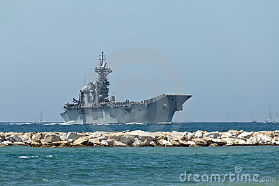 Aircraft Carrier Editorial Photography