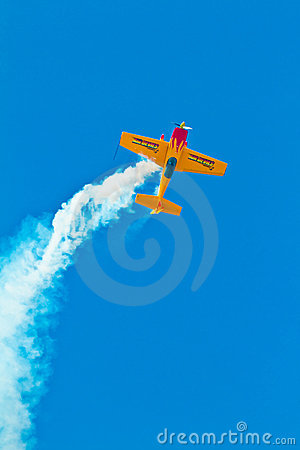 Aircraft Extra 300S Editorial Stock Photo