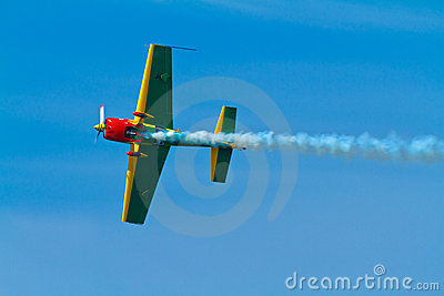 Aircraft Extra 300S Editorial Stock Image