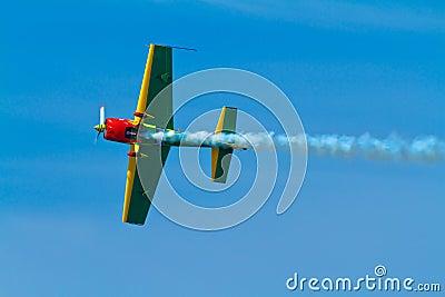 Aircraft Extra 300S Editorial Stock Image