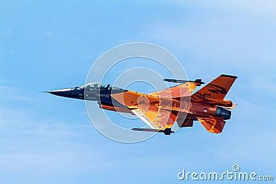 Aircraft F-16 Demo Team Editorial Photo