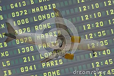 Aircraft Flight Board