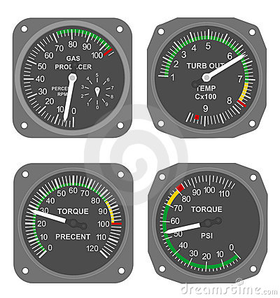 Aircraft gauges (#8)