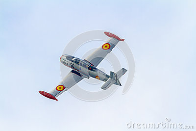 Aircraft HA-200 Saeta Editorial Stock Photo