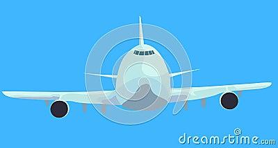 Aircraft is landing