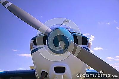 Aircraft nose cone.
