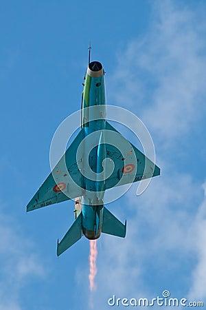 Aircraft performing at the Romanian Air Show Editorial Photo