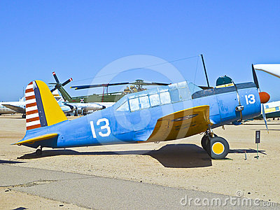 Aircraft in the Pima Air and space Editorial Stock Image