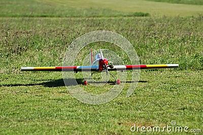 Aircraft radio model