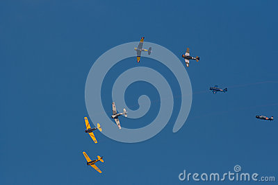 Aircraft show Editorial Stock Image