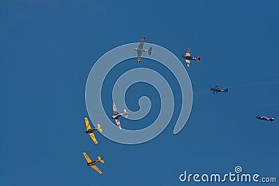 Aircraft show Editorial Stock Image