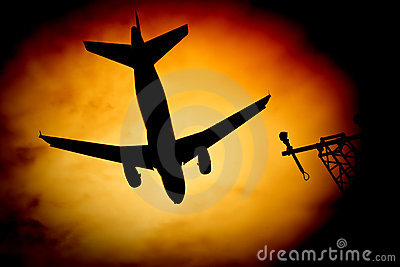 Aircraft sunburst