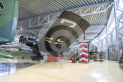 Aircraft type, junkers ju 52 Editorial Stock Photo