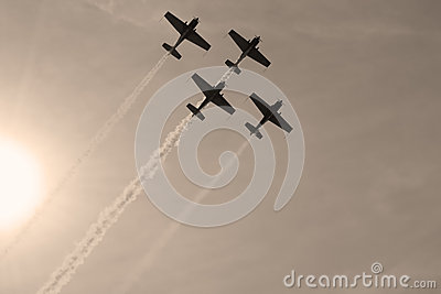 Aircrafts formation