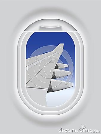 Aircrafts porthole