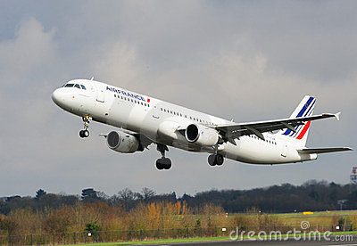 Airfrance Airbus A321 Editorial Stock Photo