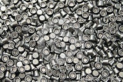 Airgun pellets background