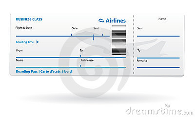 Champlain College Publishing  Airline Ticket Template Word
