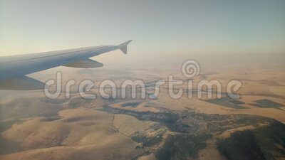The airline fly in the sky  of Cape Town , South Africa. Airline fly in the sky  of Cape Town , South Africa stock footage