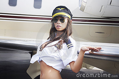 Airline girl