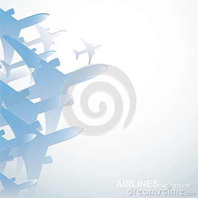 Airlines background