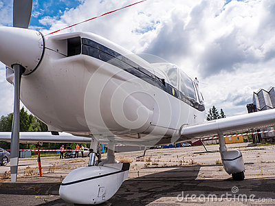 Airplain Private Jet Exhibition In Riga Editorial Stock Image  Image 583