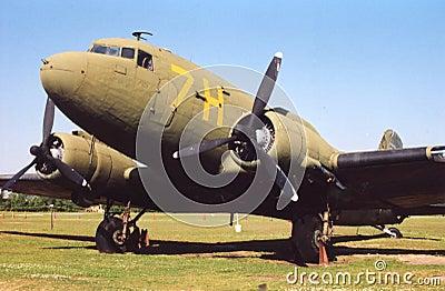 old world war 1 airplane