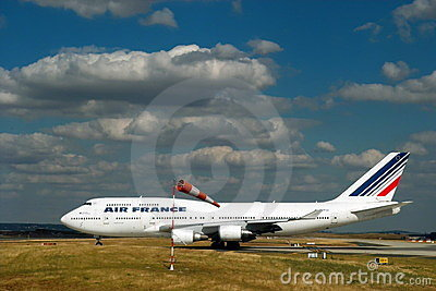 Airplane of Air France. Boeing 777. Editorial Photography