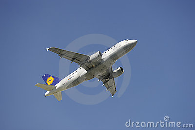 Airplane Airbus A319 Editorial Image