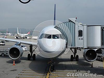 Airplane Editorial Stock Image